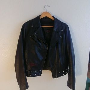 Custom made Harley Davidson moto jacket